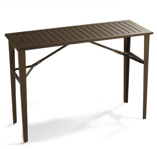 Folding Counter Height Table Patio Furniture Throughout Counter Height Sofa Tables (Image 8 of 20)