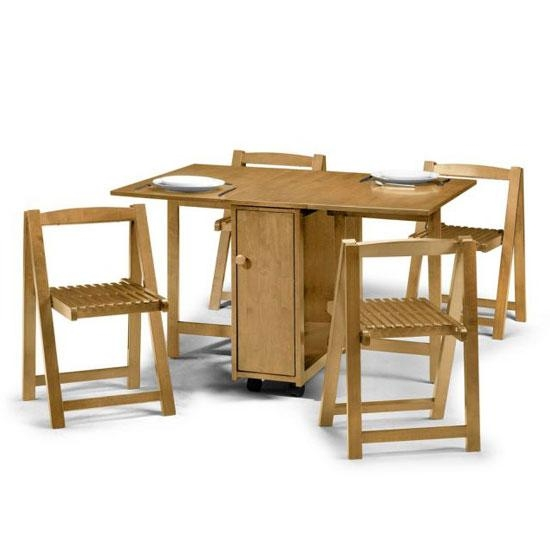 Folding Dining Table And Chairs For Folding Dining Table And Chairs Sets (View 12 of 20)