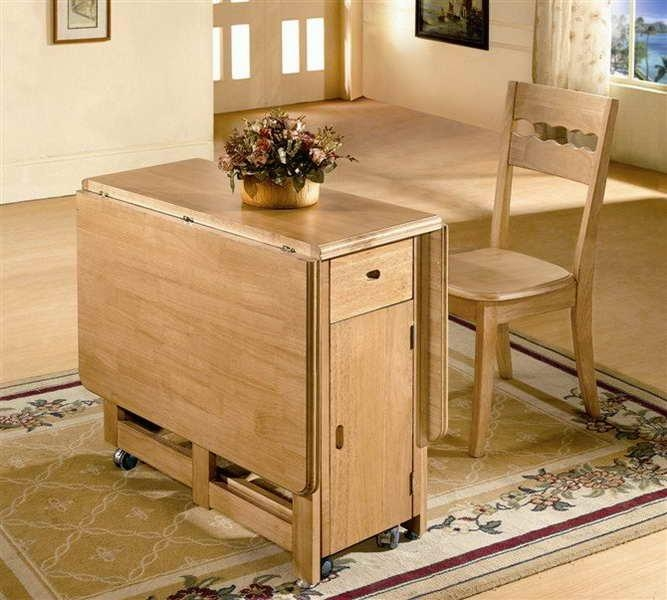 Compact Dining Table And Chairs: 20 Inspirations Compact Folding Dining Tables And Chairs