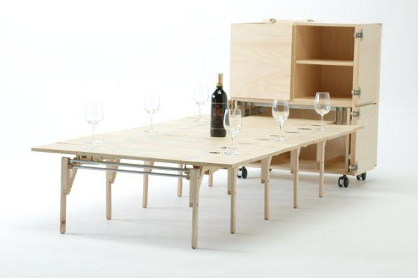 Folding Dining Tables For Small Spaces – Capitangeneral In Large Folding Dining Tables (Image 14 of 20)