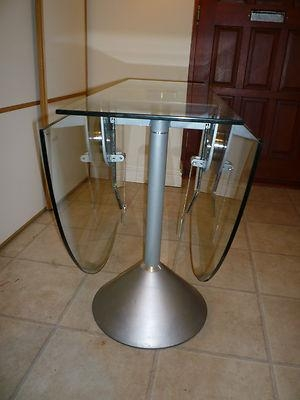 Folding Glass Dining Table – Folding Dining Table With Glass Top Regarding Glass Folding Dining Tables (Image 9 of 20)