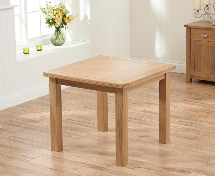 Folding Top Dining Table For Flip Top Oak Dining Tables (Image 11 of 20)