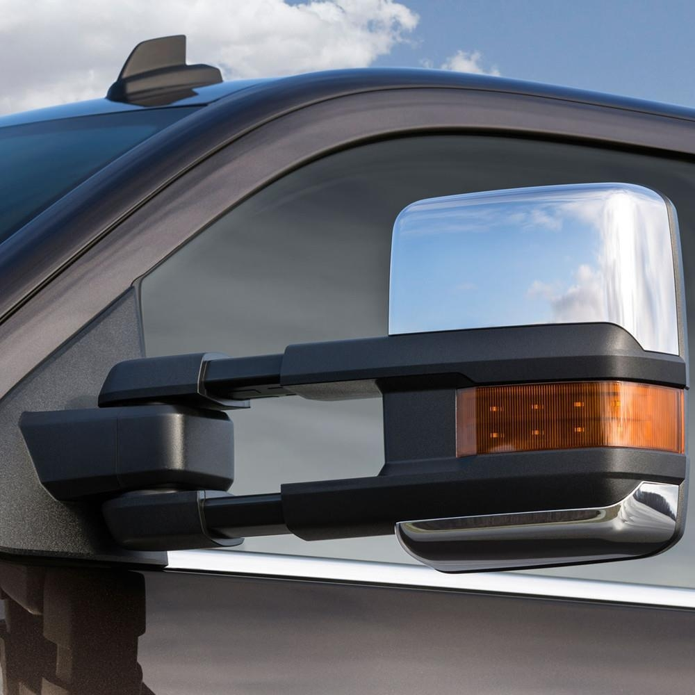 For 99 06 Silverado Sierra Towing Chrome Mirrors Turn Signals With Regard To Chrome Mirrors (Image 10 of 20)