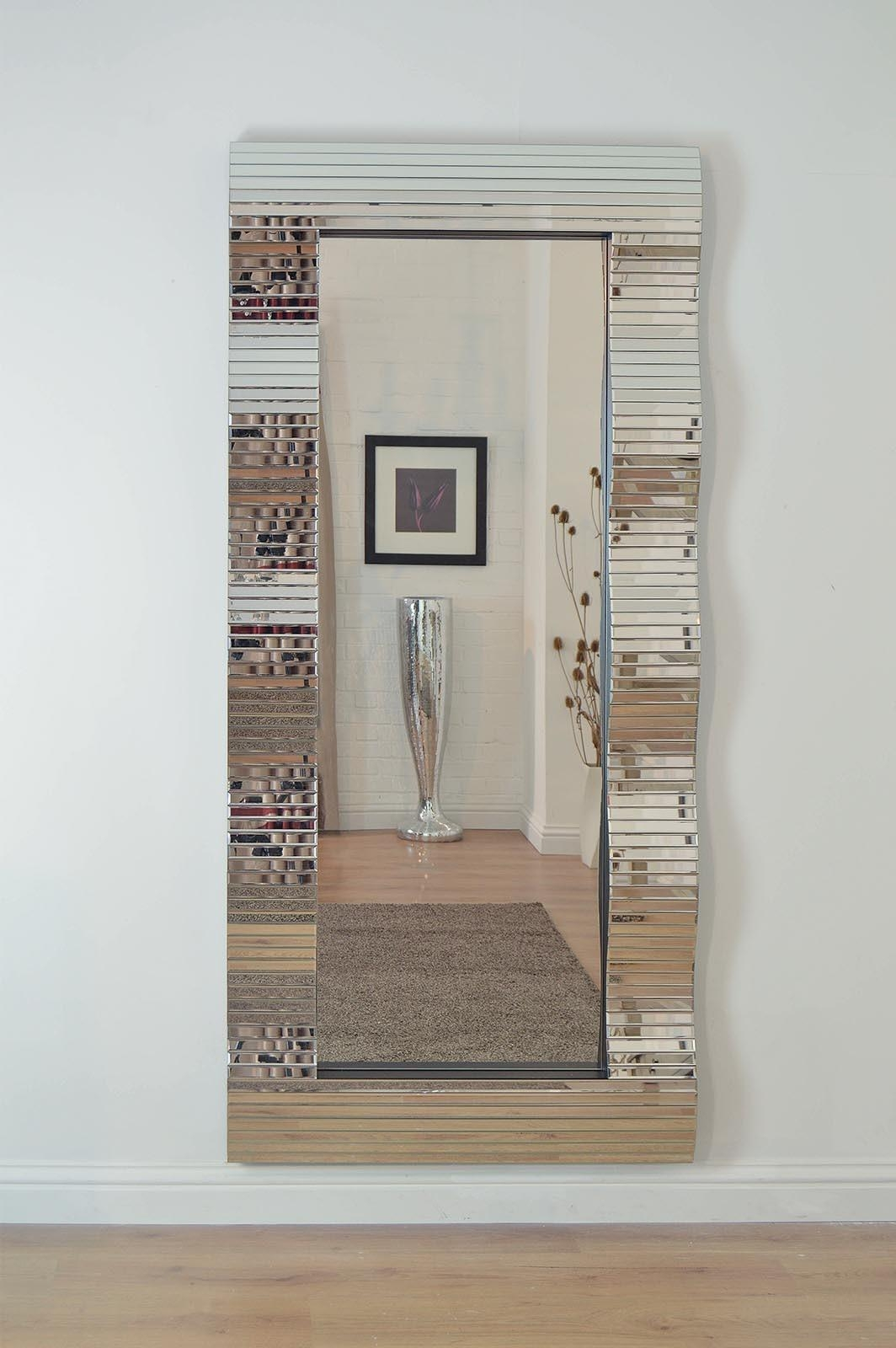 Frameless Full Length Wall Mirror 93 Beautiful Decoration Also In Wall Mirror Full Length Frameless (Image 2 of 20)
