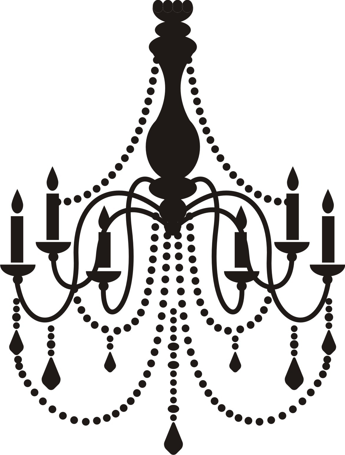 Free Chandelier Clip Art Chandeliers Design Clipartandscrap For Clip On Chandeliers (Image 18 of 25)