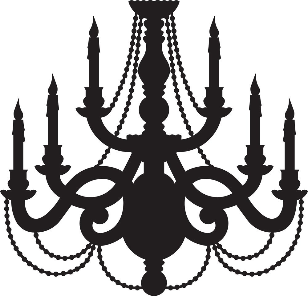 Free Chandelier Vector Clip Art Chandeliers Design Clipartandscrap With Clip On Chandeliers (Image 19 of 25)