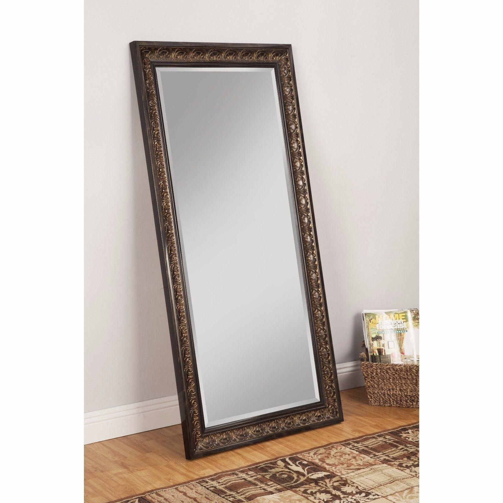 Free Standing Mirror Cheval Floor Full Length Leaning Big Long Regarding Long Dressing Mirror (View 2 of 20)