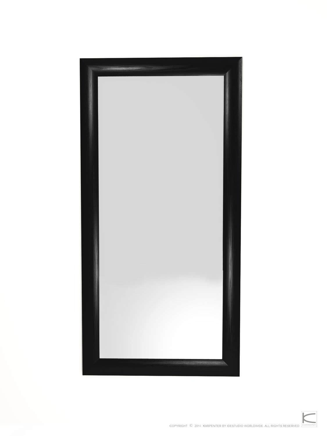 Free Standing Mirror / Contemporary / Rectangular / Oak – Vi40 Intended For Free Standing Oak Mirror (Image 15 of 20)