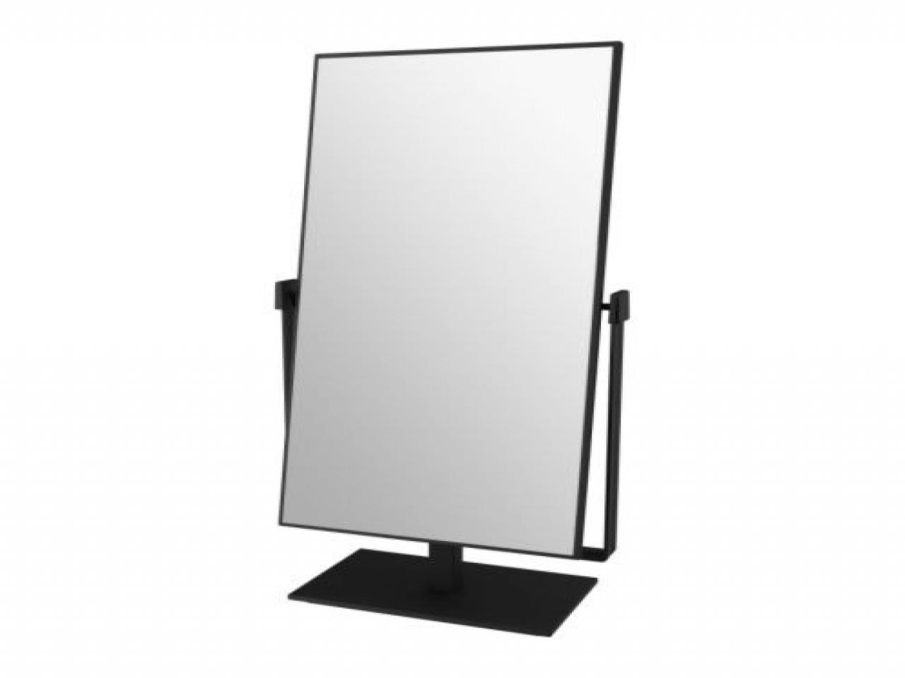 Free Standing Mirrors, Free Standing Guest Towel Holder Free Throughout Free Standing Table Mirror (Image 4 of 20)