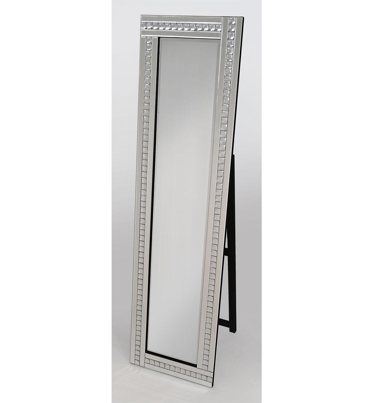 Freestanding Mirrors Archives – Chic Interiorschic Interiors Inside Mirror With Crystals (Image 11 of 20)