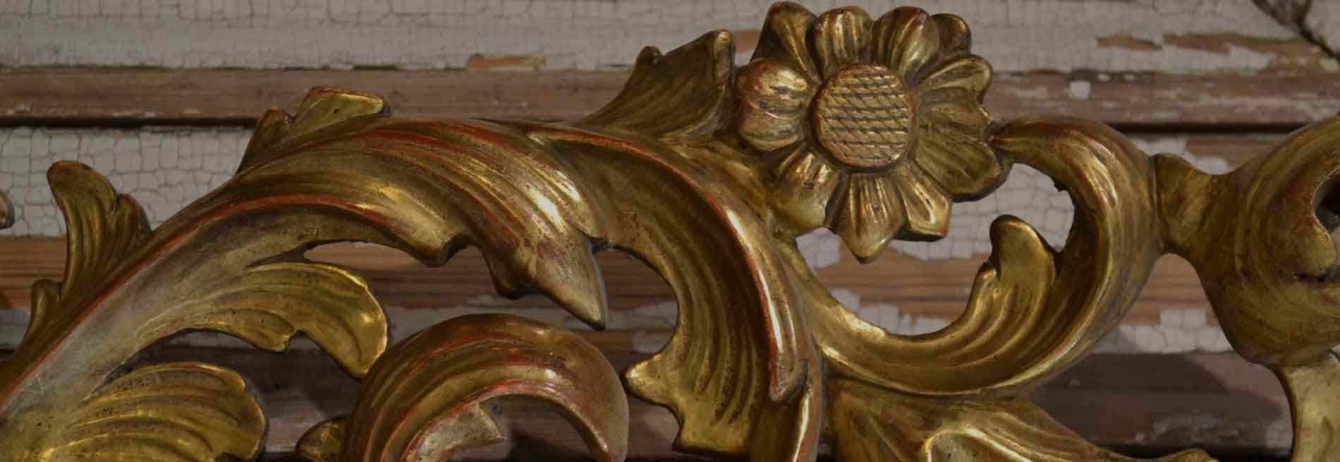 French Antique Mirrors: Gilding Workshop Regarding French Mirrors Antique (Image 15 of 20)