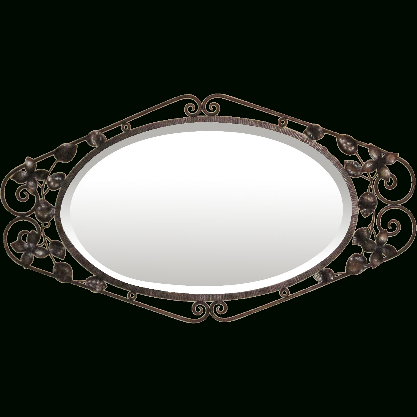 Featured Image of Black Wrought Iron Mirrors
