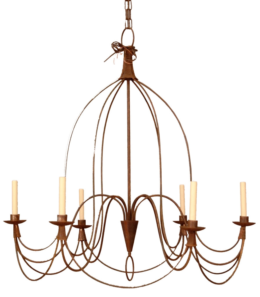 French Country Chandelier Crystorama Quotmaria Theresaquot 9 Pertaining To French Country Chandeliers (View 8 of 25)