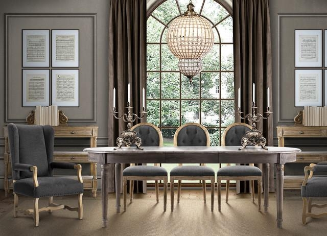 French Country Dining Room Table – Eclectic – Dining Room – Dallas Throughout French Country Dining Tables (Image 15 of 20)