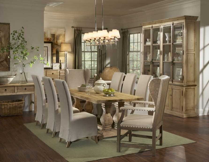 French Country Dining Room (View 9 of 20)