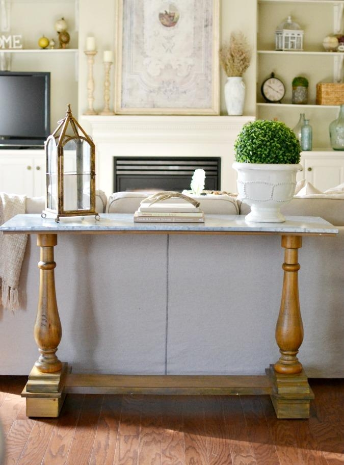 French Country Sofa Table – At The Picket Fence With Country Sofa Tables (Image 16 of 20)
