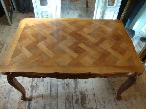 French Extending Dining Table | 190020 | Sellingantiques.co (Image 11 of 20)