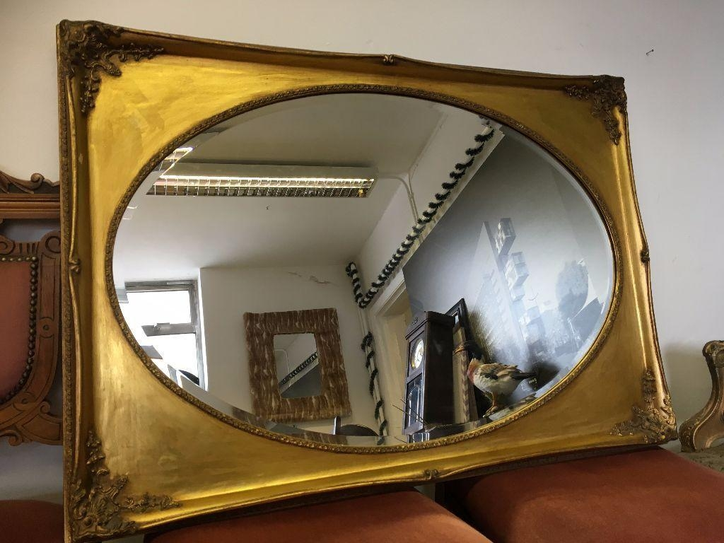 French / Ornate / Rococo Mirror – Over Mantle Mirror – Vintage Inside Mantle Mirror (Image 15 of 20)