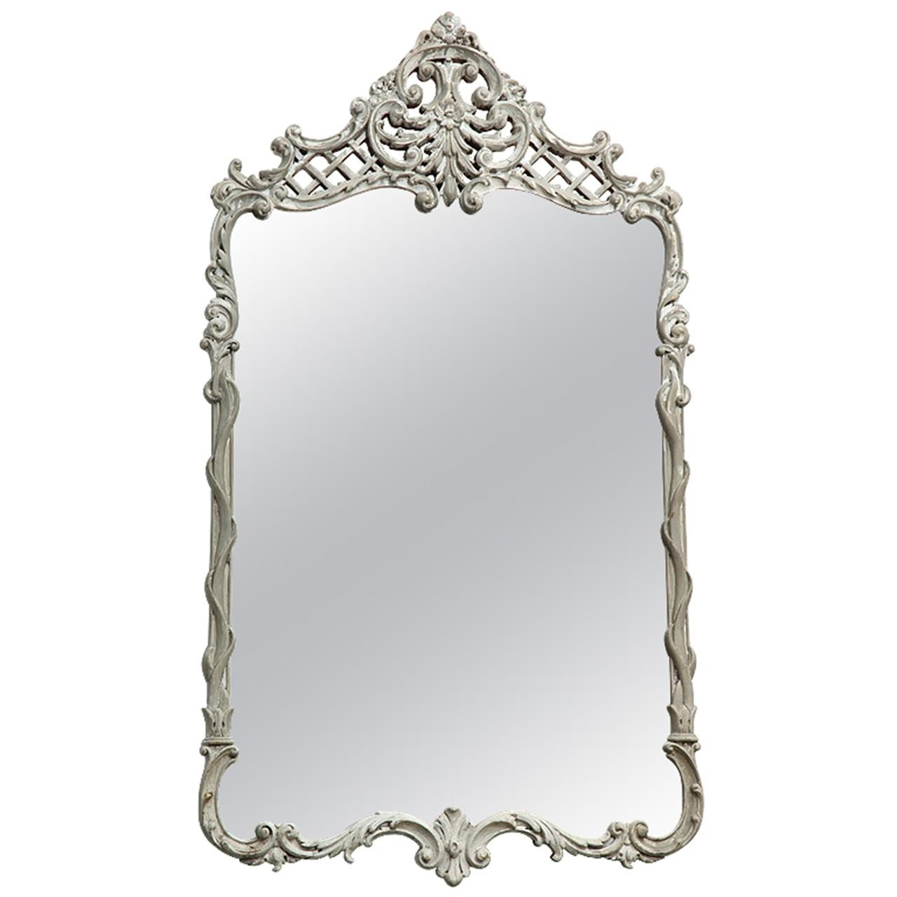 French Rococo Mirror – Prudence Designs & Events | Prudence Inside French Rococo Mirror (Image 13 of 20)