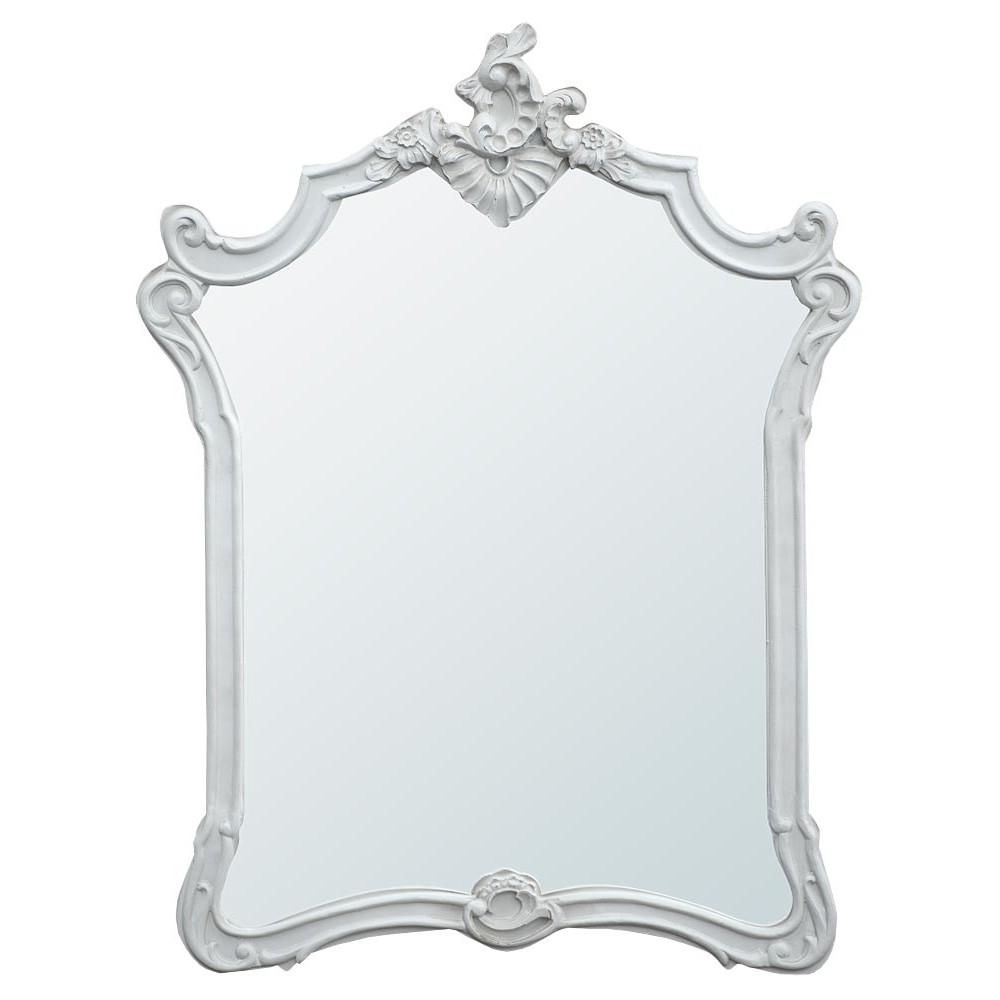 French Rococo Style Mirrors With Regard To White Rococo Mirror (Image 10 of 20)