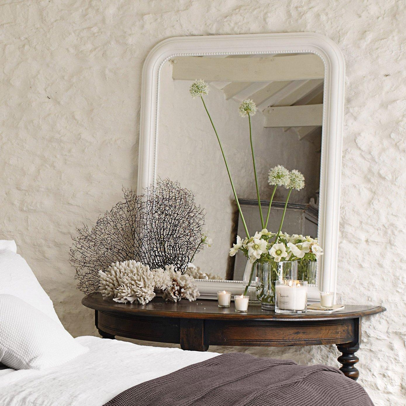 French Style Bedrooms – Love French Style Regarding White French Mirrors (Image 13 of 20)