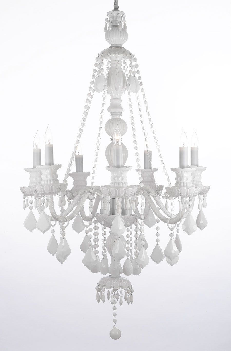 Fruit And Color Crystal Chandelier Chandeliers Crystal Chandelier With Regard To Small White Chandeliers (Image 16 of 25)