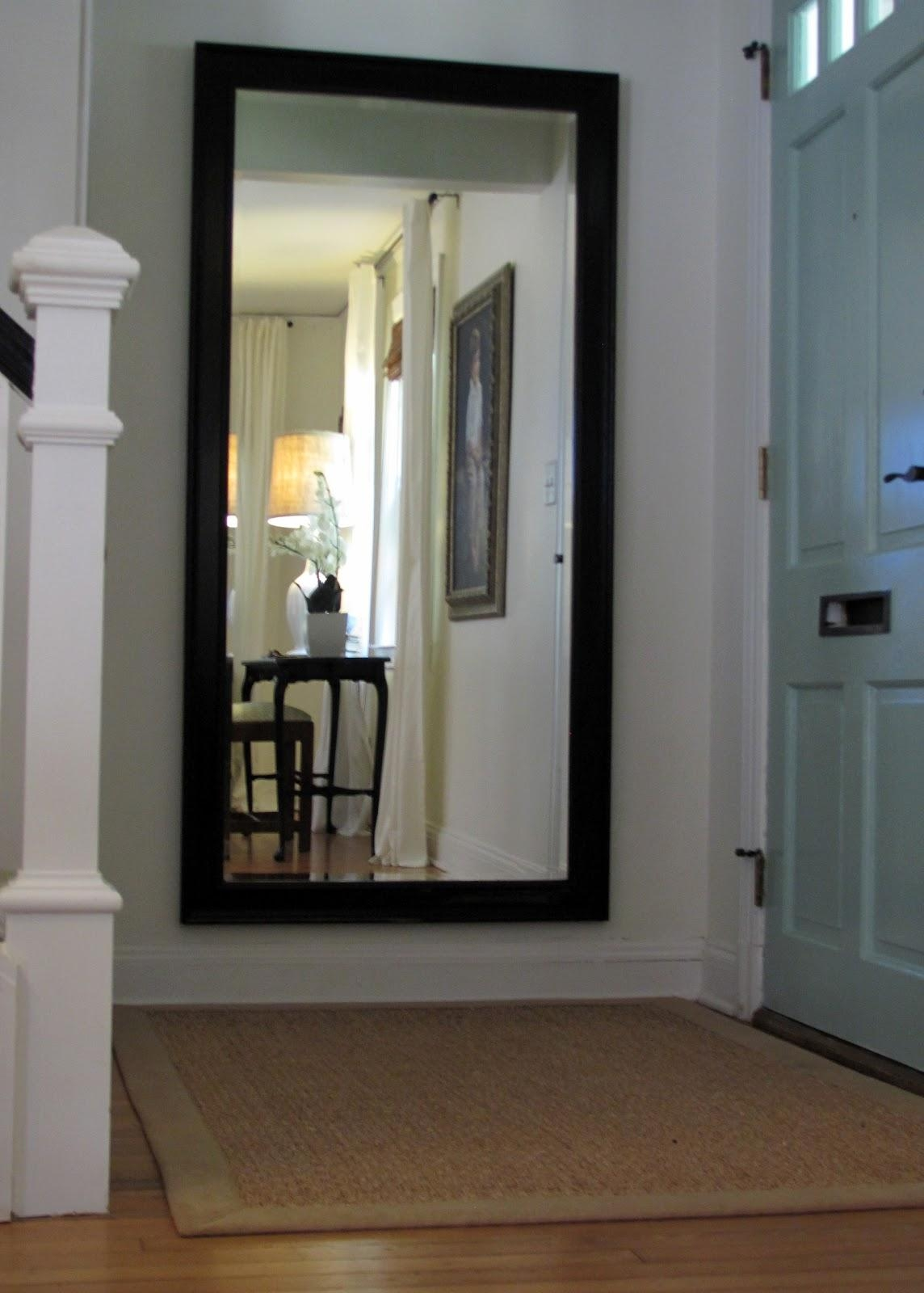 Full Length Black Mirror 100 Trendy Interior Or Full Length Black With Regard To Large Long Mirror (Image 10 of 20)