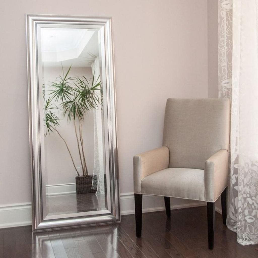 Full Length Decorative Wall Mirrors Full Length Beveled Wall Regarding Beveled Full Length Mirror (Image 12 of 20)