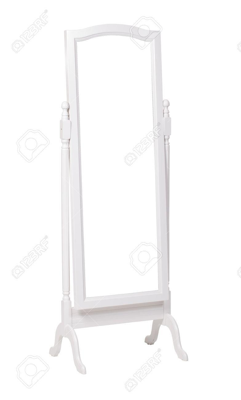 Full Length Dressing Mirror On Stand Folding Free Standing Mirror With Regard To Free Stand Mirror (Image 9 of 20)