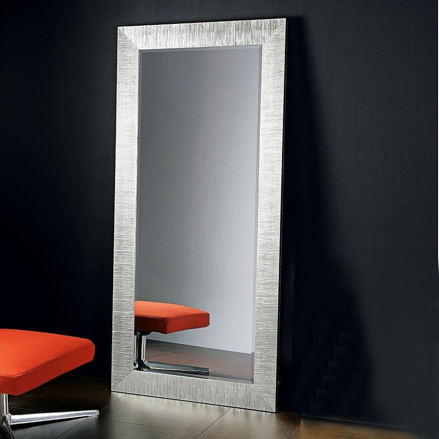 Full Length Mirror Silver 133 Stunning Decor With Contemporary With Regard To Silver Long Mirror (Image 7 of 20)