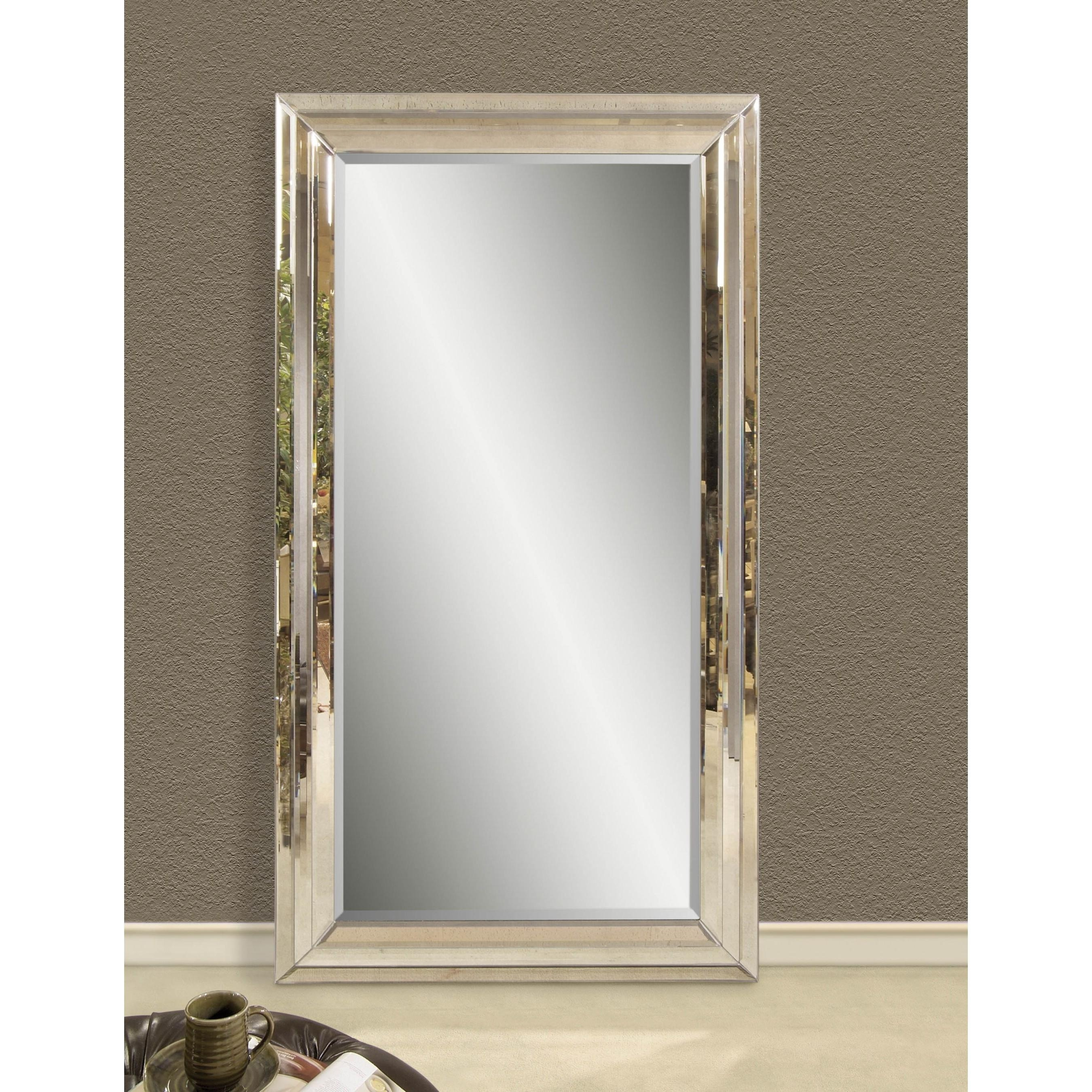 Full Length Mirror Silver 58 Inspiring Style For Antique Leaner Regarding Antique Full Length Wall Mirror (Image 12 of 20)