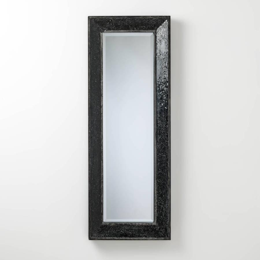 Full Length Mirror With Glitter Mosaichand Crafted Mirrors With Regard To Glitter Frame Mirror (Image 8 of 20)