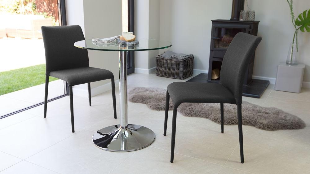 Fully Upholstered Stackable Fabric Dining Chairs | Uk Within Two Seater Dining Tables And Chairs (Image 12 of 20)