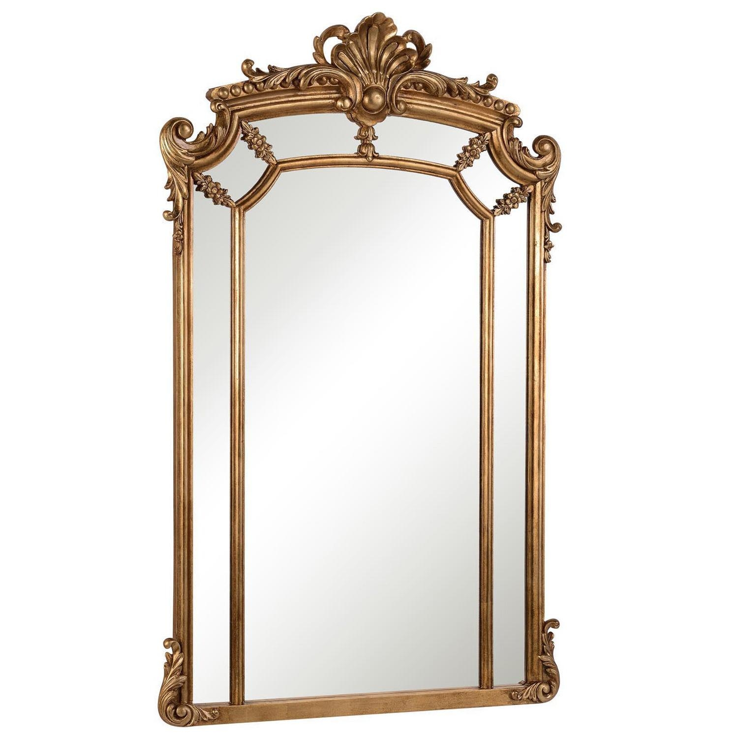 Furniture: Captivating Arched Mirror For Home Furniture Ideas Inside Gold Arch Mirror (Image 5 of 20)