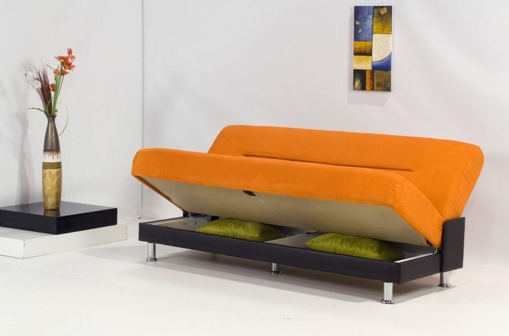 Furniture: Comfortable Serta Convertible Sofa Bed – Comfortable Inside Castro Convertible Sofa Beds (Image 11 of 20)