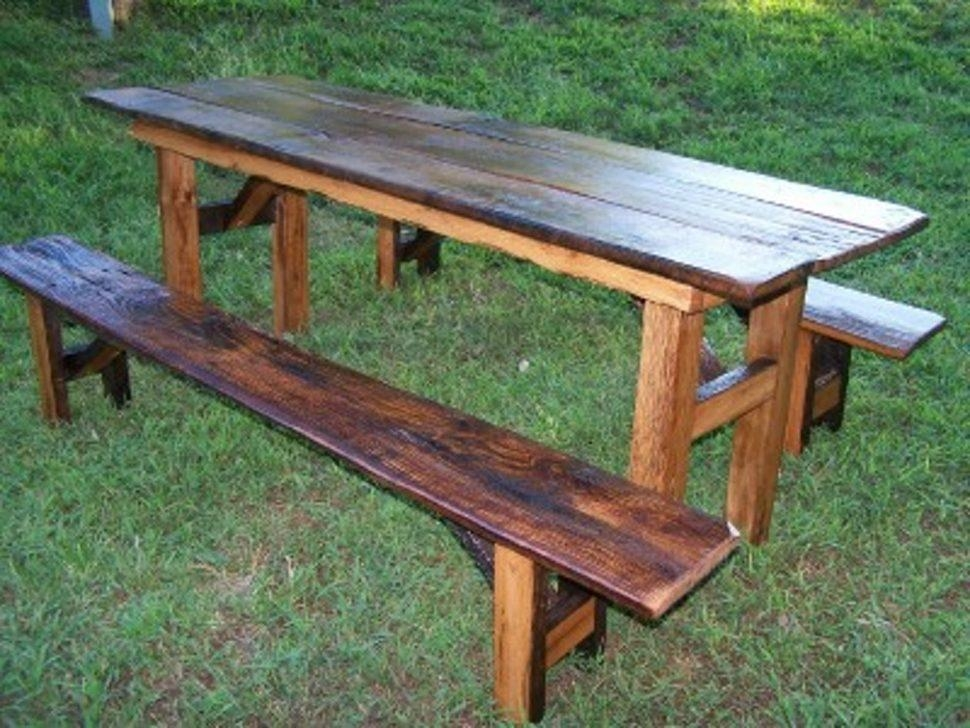 Furniture Home: Fisher Price Picnic Table Furniture Designs With Indoor Picnic Style Dining Tables (View 20 of 20)