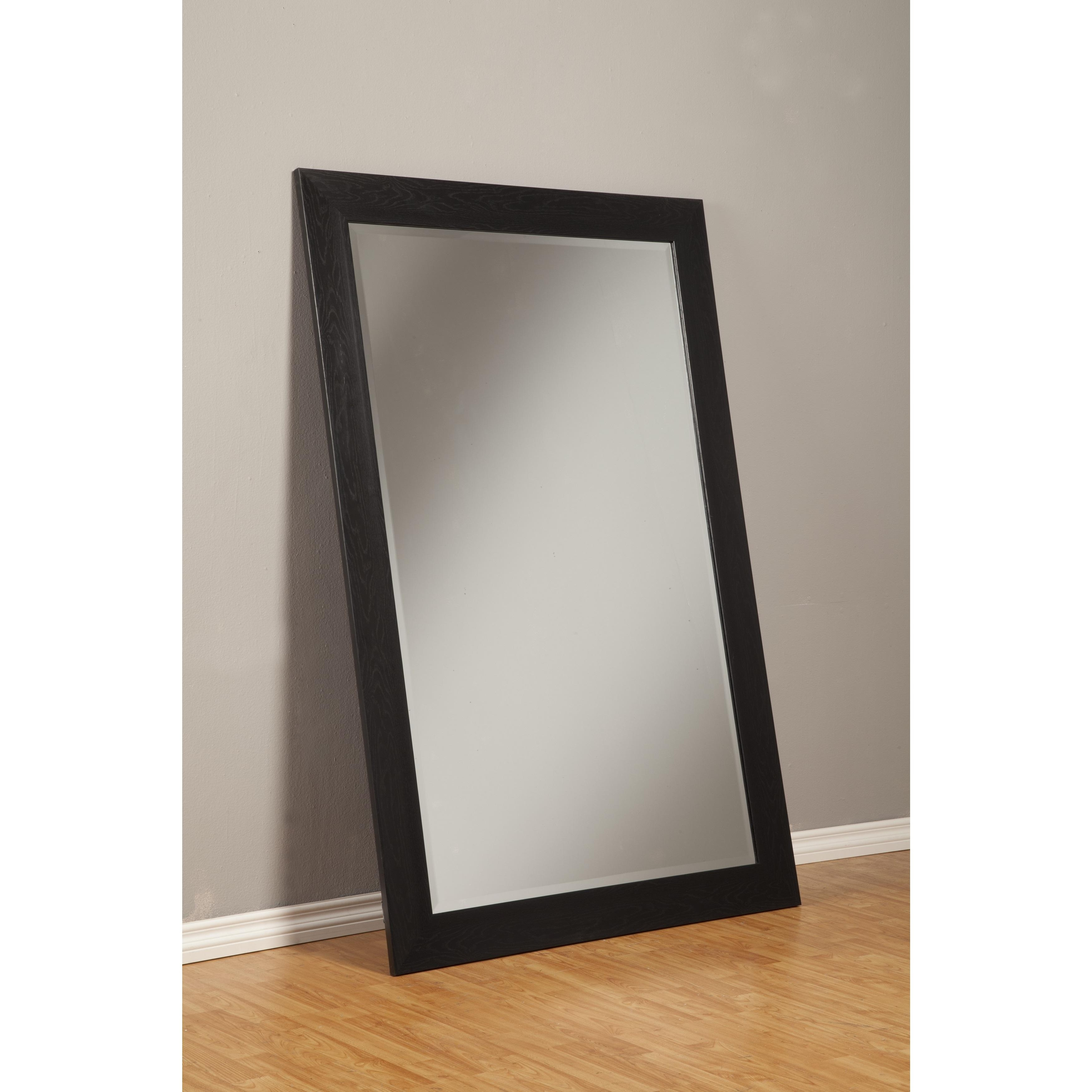Furniture: Luxury Leaner Mirror For Home Accessories Ideas — Mtyp Within Large Pewter Mirror (Image 8 of 20)
