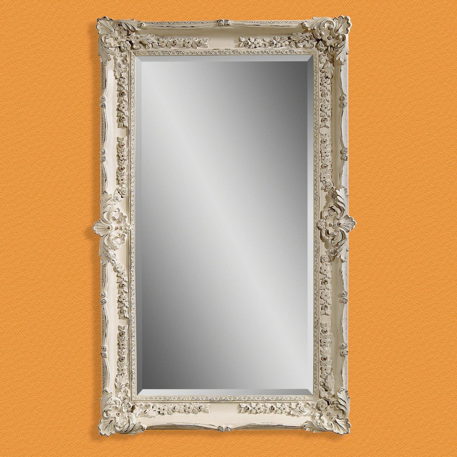 Furniture: Mesmerizing Oversized Floor Mirror For Home Furniture Inside Oversized Antique Mirror (Image 15 of 20)