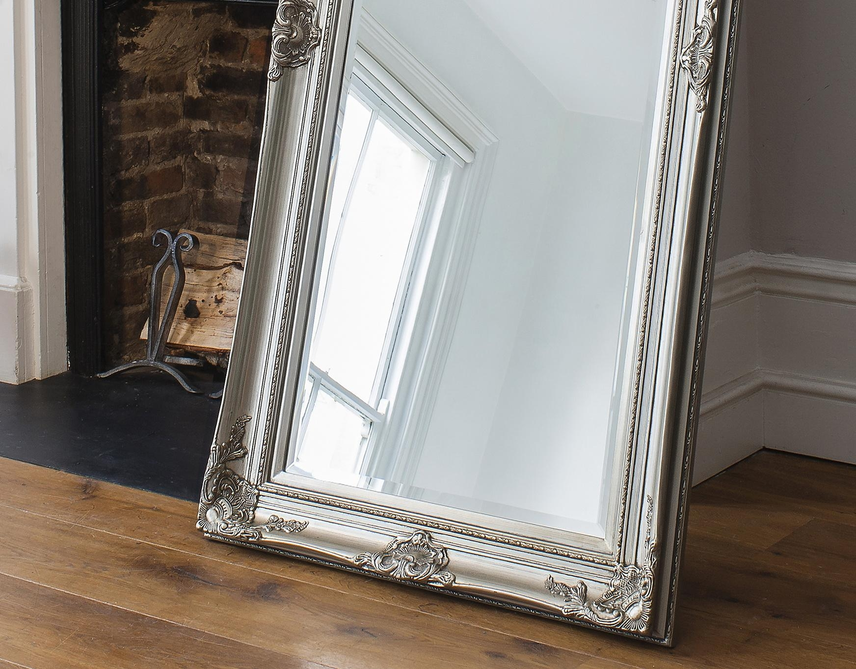 Furniture: Mesmerizing Oversized Floor Mirror For Home Furniture Regarding Large Floor Mirrors (Image 10 of 20)