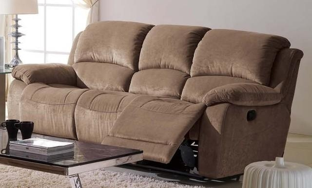 Furniture: Microsuede Sleeper Sofa With Brown Microfiber Couch With Regard To Microsuede Sleeper Sofas (Image 2 of 20)