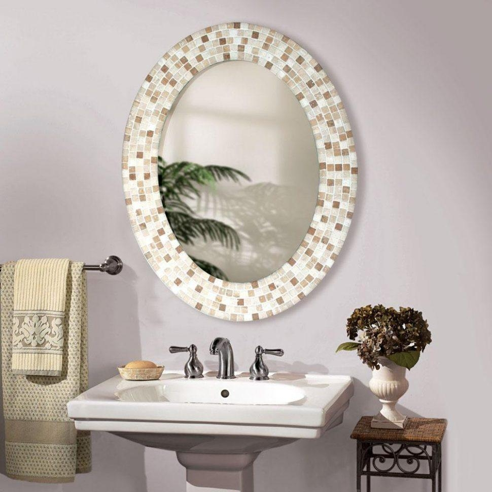 Furniture: Modern Bathroom Mirrors Types Design Ideas Framed Ideas Pertaining To Ornate Bathroom Mirrors (Image 11 of 20)