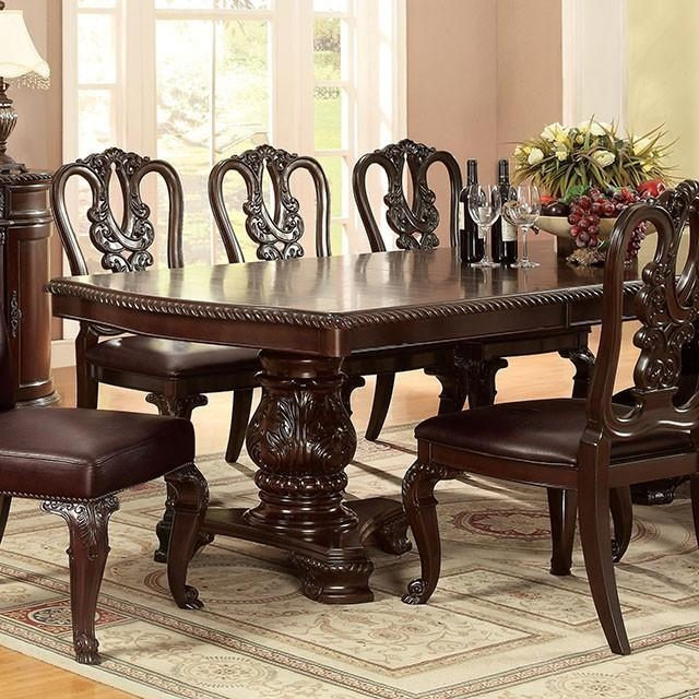 Furniture Of America | Dining Table | Bellagio Intended For Bellagio Dining Tables (Image 15 of 20)
