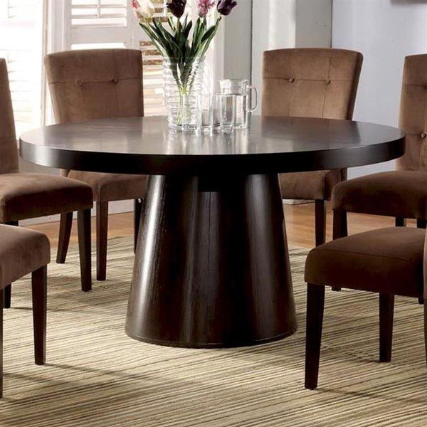 Furniture Of America Havana Round Dining Table | The Mine Throughout Havana Dining Tables (Image 6 of 20)