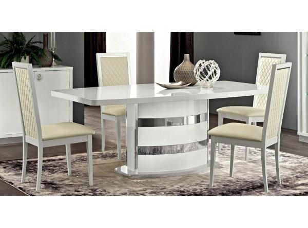 Furniture Roma Dining Table In White Within Roma Dining Tables (View 18 of 20)