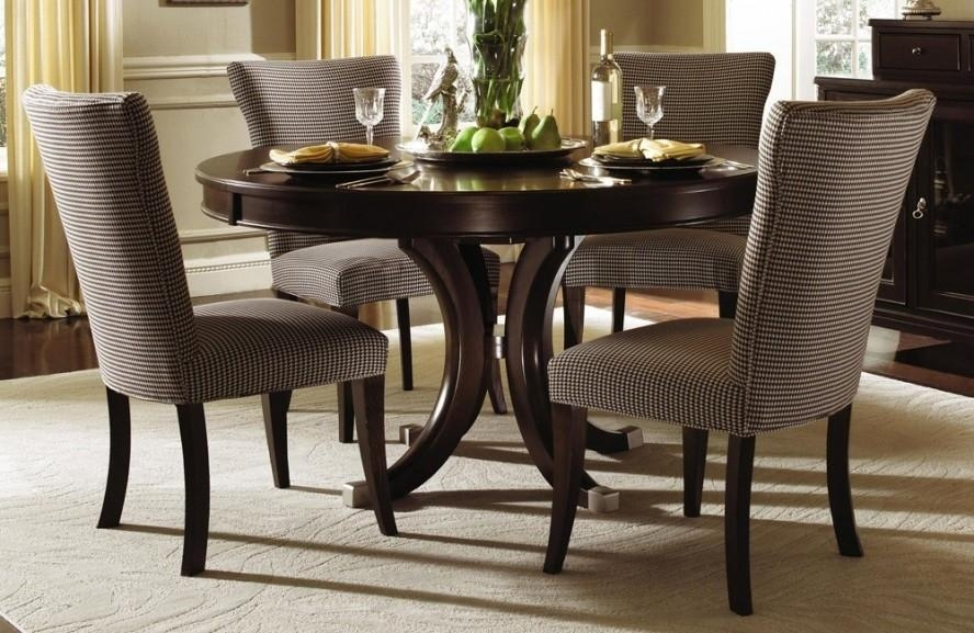Furniture: Round Glass Dining Table And Chairs Sale Archives Pertaining To Round 6 Person Dining Tables (View 16 of 20)