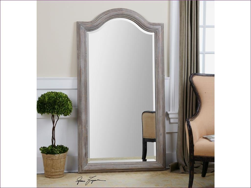 Furniture : Tall Black Mirror Large Silver Floor Mirror 6 Foot Intended For Baroque Floor Mirror (Image 14 of 20)