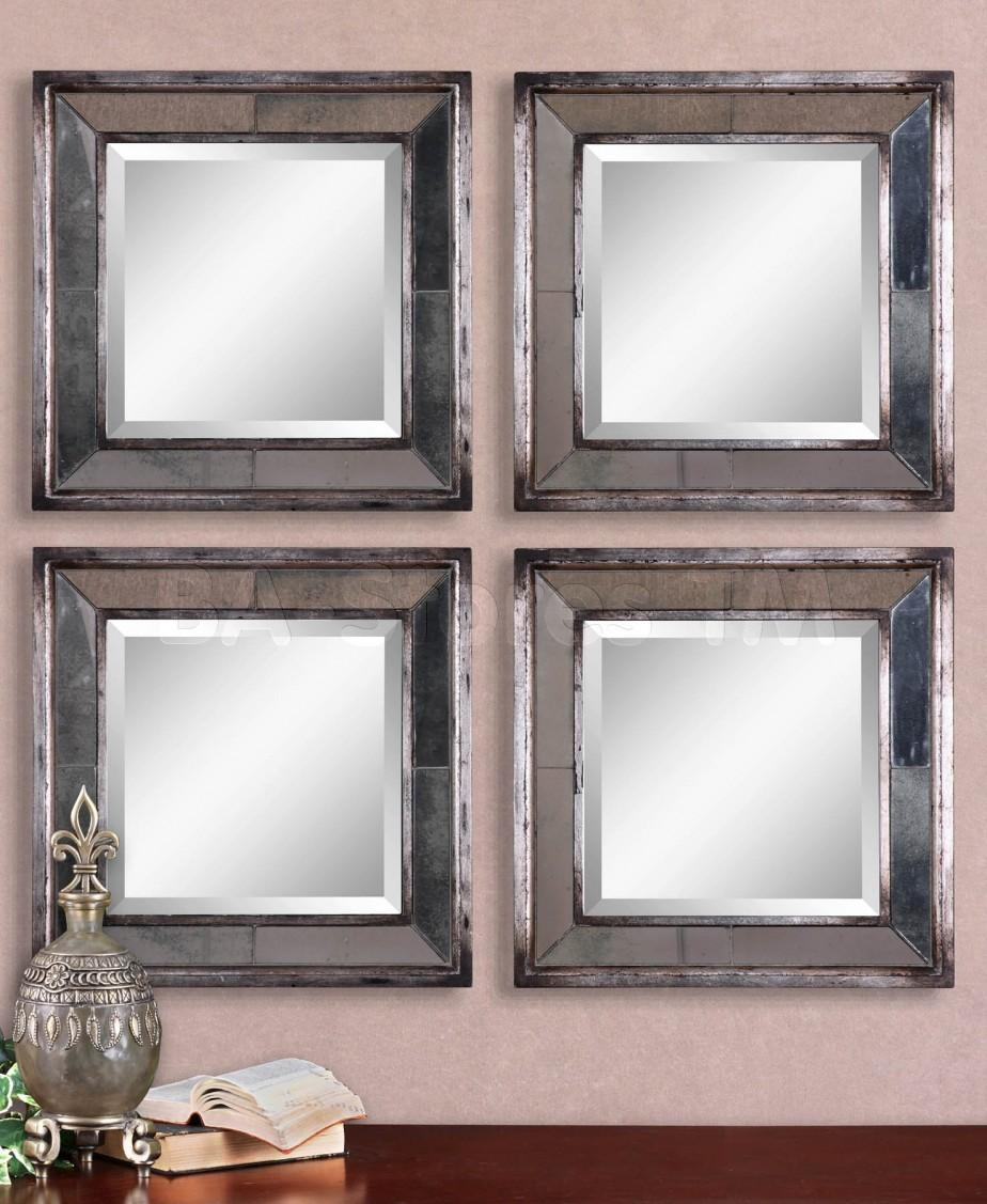 Furniture: Top Notch Square Bevelled Mirror Tiles For Your Wall Throughout Square Bevelled Mirror (Image 8 of 20)