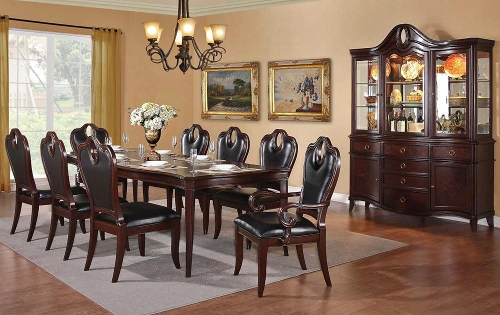 Furniture Traditional Dining Tables Uk And Chairs Toronto Nz Throughout Traditional Dining Tables (Image 9 of 20)