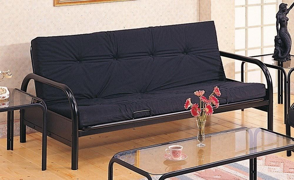 Futon Bed Couch | Roselawnlutheran Pertaining To Coaster Futon Sofa Beds (Image 16 of 20)