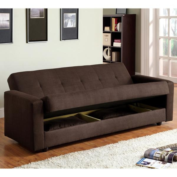 Futons With Storage Underneath | Roselawnlutheran For Sofa Beds With Storage Underneath (Image 7 of 20)